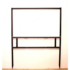 Frame - 18x30 Black 3/4