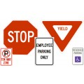 Automotive<br>Traffic Control Signs