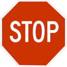 Traffic Control - Stop Sign .080 Reflective Aluminum