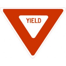 Traffic Control - Yield Sign .080 Reflective Aluminum