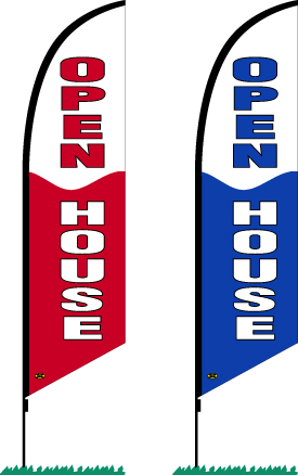 Open House Flag | Flags, Signs, Banners, Frames & Posts