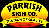 Parrishsign